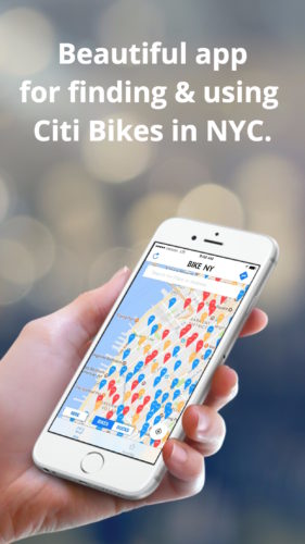 BIKE NY Citi Bike NYC App - Map & Directions